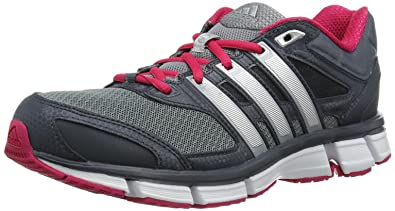adidas Questar Cushion 2 D65744 Damen Laufschuhe  Grau (Dark Onix / Metallic Silver / Vivid Berry S14)
