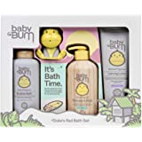 Baby Bum Duke's Rad Bath Set   Full Size Bath Essentials 4-Piece Gift Set with Toy for Sensitive Skin with Nourishing Coconut