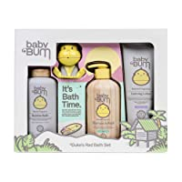 Baby Bum Duke's Rad Bath Set | Full Size Bath Essentials 4-Piece Gift Set with Toy...