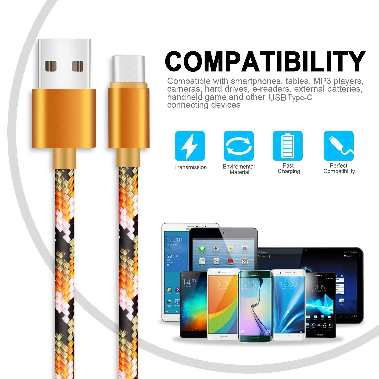 Note 9 S10 Plus Note 9 Plus S9 Note 8 Plus 4 Pack 1FT 3FT 6FT 10FT USB A TO USB C Charer Cable Long /& Short Nylon Braided Charge /& Data USB Type C Charging C S9 Plus S10 USB Type C Cable Fast Charging for Samsung Galaxy S8 S8 Plus Note 8