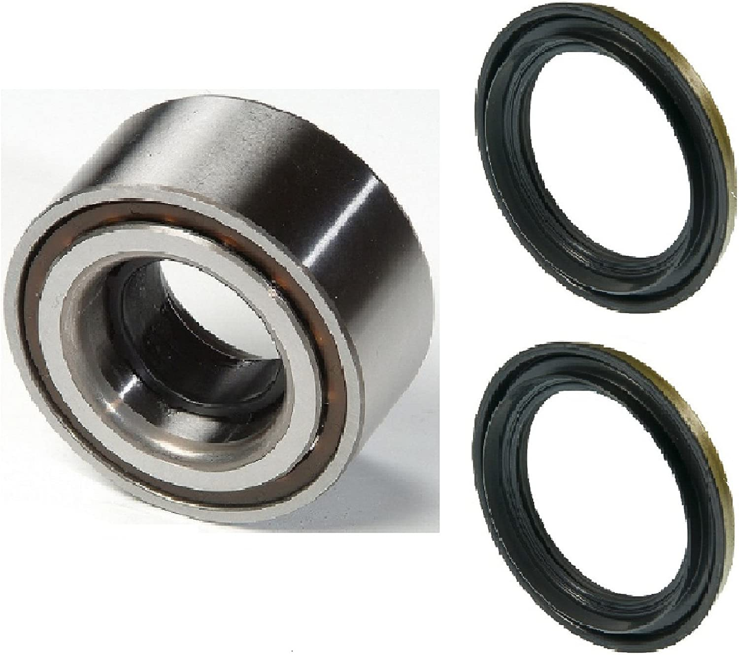 PAIR Front Left And Right Wheel Hub And Bearing with Seal fit 1998 1999 2000 2001 NISSAN ALTIMA