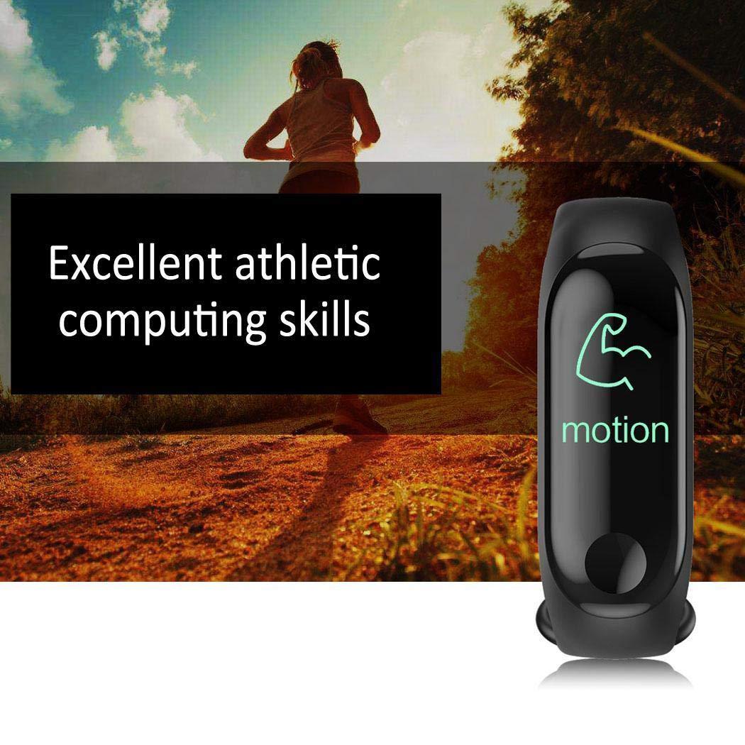 Miseku Waterproof Bluetooth Sports Smart Wristband Rate Monitor Fitness Tracker Smart Watches
