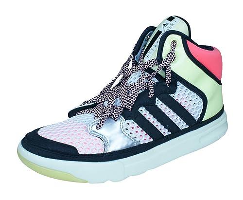 size 40 537f3 4bb45 adidas Stellasport Irana by Stella McCartney Womens Fitness Trainers  Shoes-White-4.5