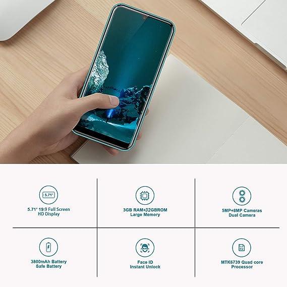 Amazon.com: DUODUOGO Power A70N Smartphone Dual 4G LTE Cell ...
