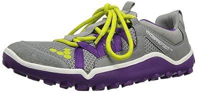 VIVOBAREFOOTBreatho Trail L - Zapatillas de running mujer, color negro, talla 35.5