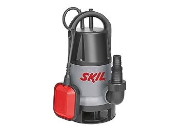 Skil 0810AA Bomba agua Sumergible agua sucia (500W, 10m Cable, con Flotador y Conexión universal): Amazon.es: Bricolaje y herramientas