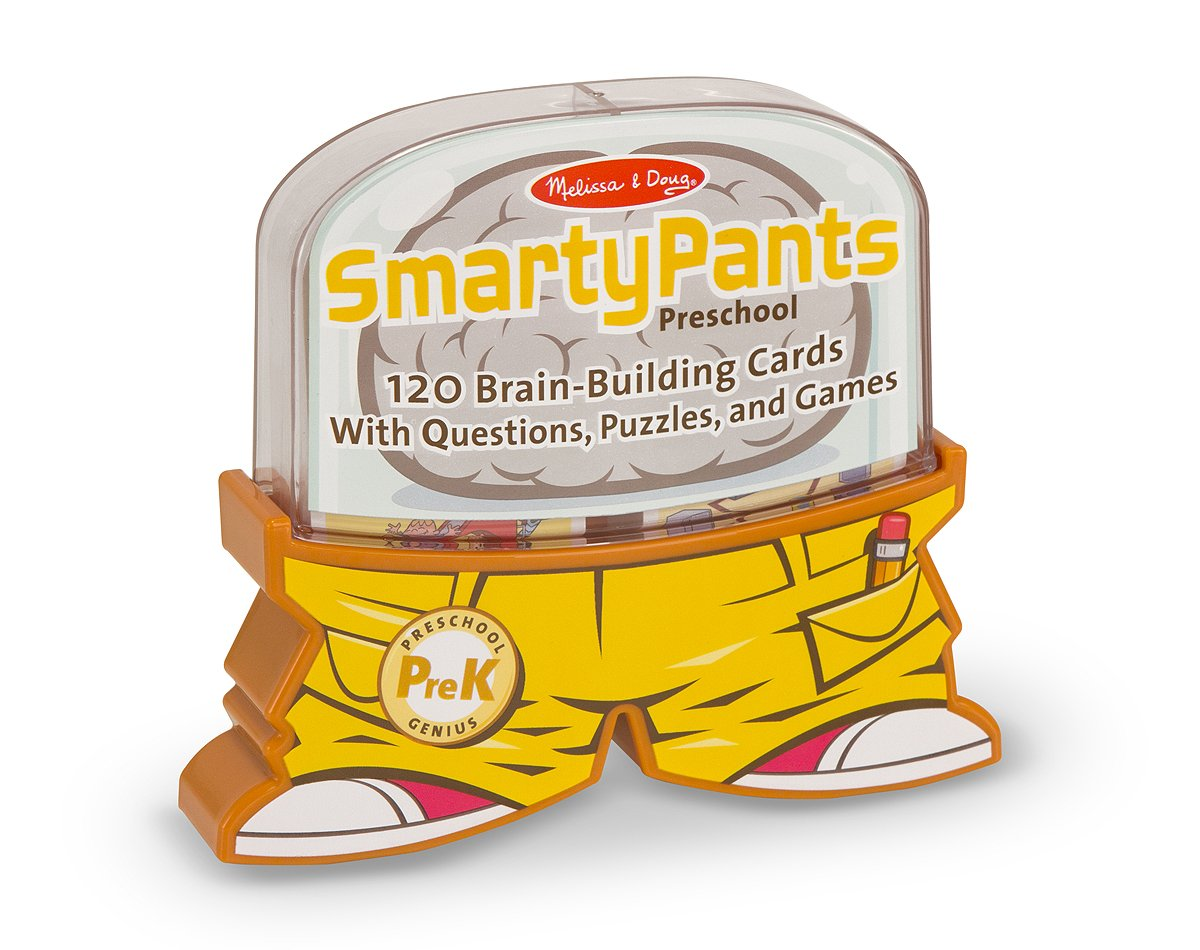 amazon com melissa u0026 doug smarty pants preschool card set