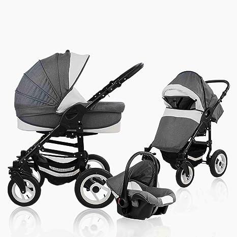 bebebi Florenz | Neumáticos de Aire en blanco | Carrito 3 en ...