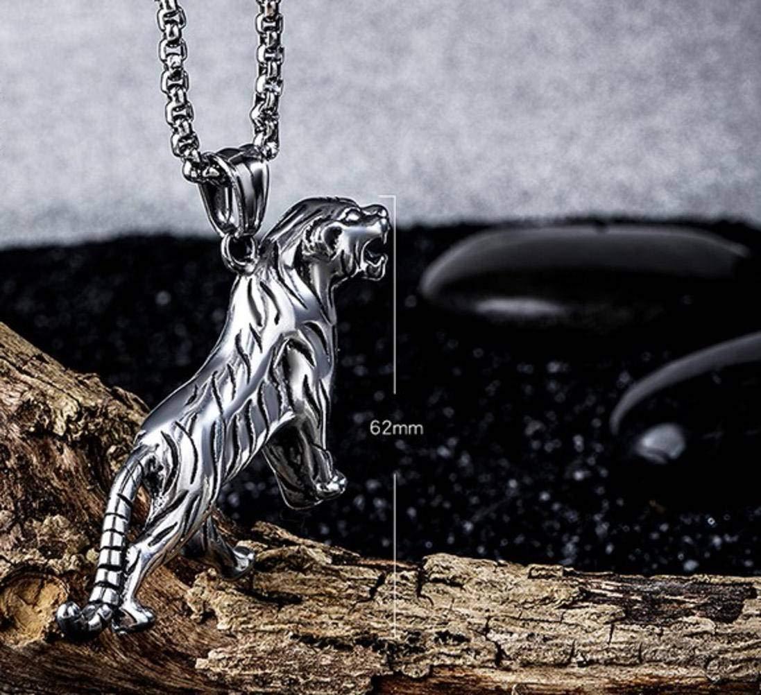Basteln, Malen & Nähen MingXinJia Koreanische Persönlichkeit Herrschsüchtig Tiger Titan Männlich Halskette Männlichen Männlichen Schmuck Anhänger Flut Basteln, Malen & Nähen