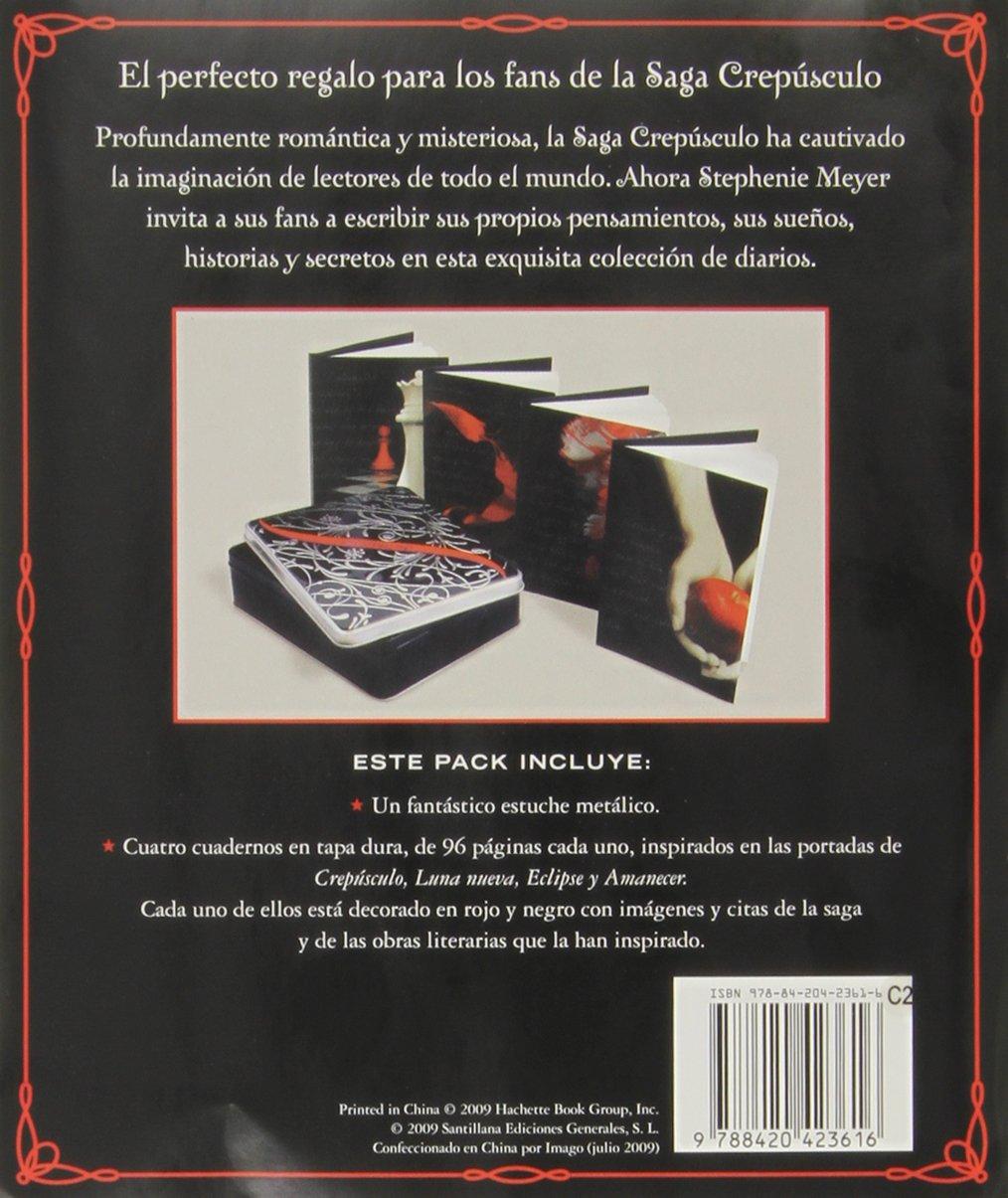 DIARIOS SAGA CREPUSCULO La Saga Crepusculo / Twilight Saga: Amazon ...