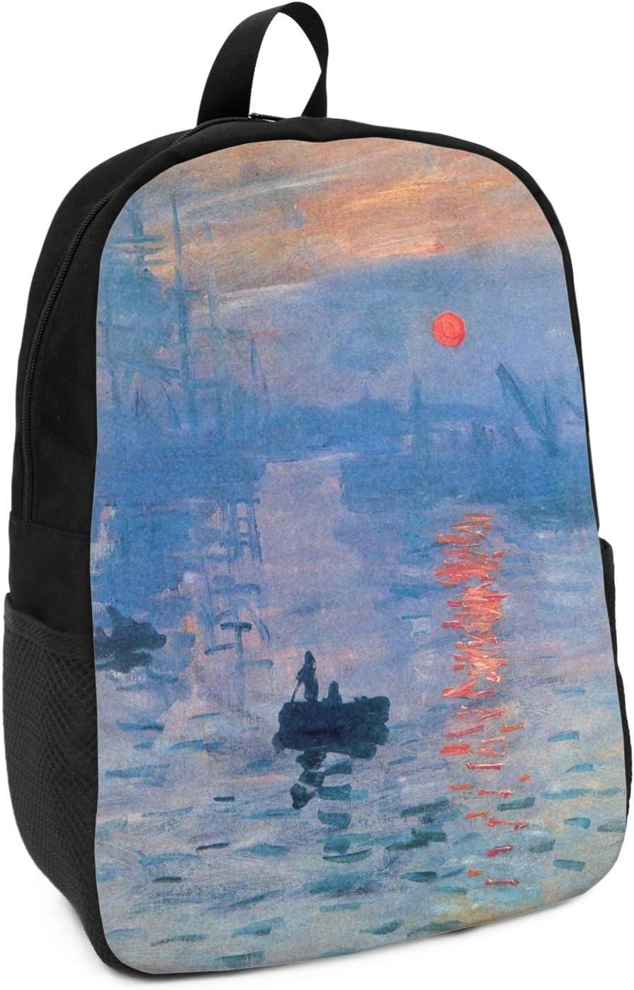 Impression Sunrise by Claude Monet Kids Backpack