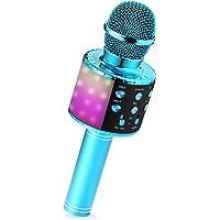 Micrófono Karaoke, Micrófono Bluetooth Inalámbrico para Niños Juguetes Niña 3 4 5 6 7 8 9 Años Regalo Niña 3 4 5 6 7 8 9…
