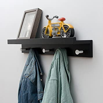 Clothes hat shelf Percheros de Entrada/Estante/Percheros de ...