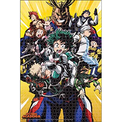 My Hero Academia- Group 1 Puzzle 1000Pcs: Toys & Games