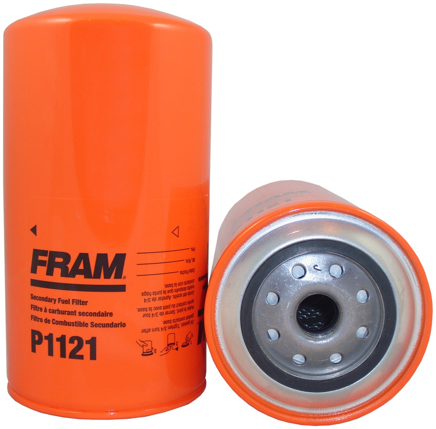 Fram Fuel Filter Bases Wiring Library Mercedes Ml320 Location Amazoncom P1121 Secondary Spin On Automotive