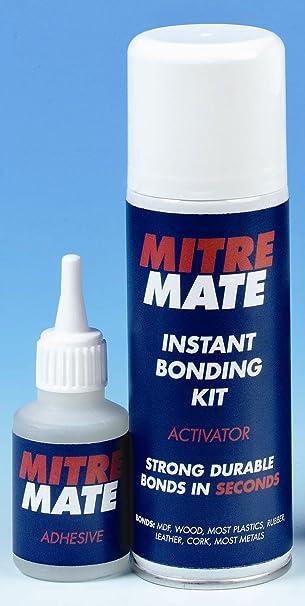 1 X X30mm001 Mitre Mate Classic Adhesive Kit Glue Instant Bonding Fix Amazon Co Uk Diy Tools