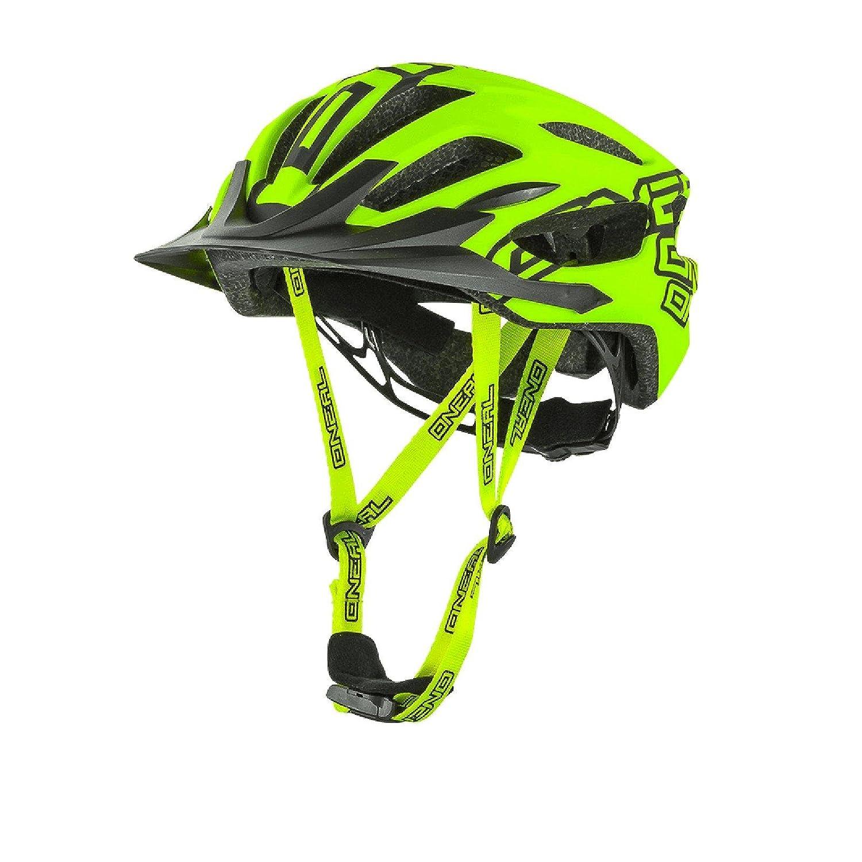 O& 039;Neal Q RL Halbschalen Helm MTB Neon Gelb All Mountain Enduro Trail Fahrrad, 0504-30