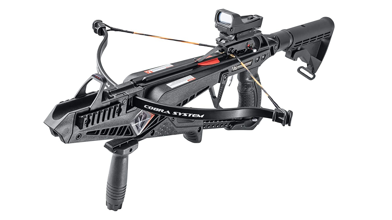 Pack of 10 EK Archery R9 Cobra Pistol Carbon Bolts Crossbow
