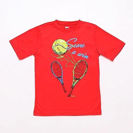 PROTON Camiseta Tenis Roja Niño (Talla: 14): Amazon.es: Deportes y aire libre