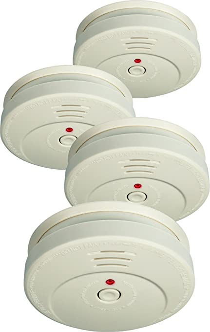 Elro RM144C/4 - Pack 4 detectores de humo