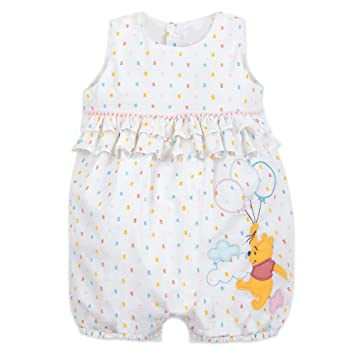 Amazon Com Disney Winnie The Pooh Bubble Romper For Baby Size 12 18