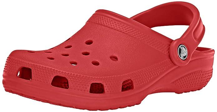 Crocs Classic Clog | Comfortable Slip on Casual Water Shoe, Pepper, 7 M US Women / 5 M US Men