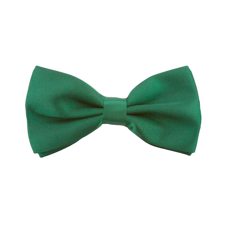 Kinder Fliege Schleife Größe verstellbar Festlichkeit Hochzeit Anzug Smoking (Grün)