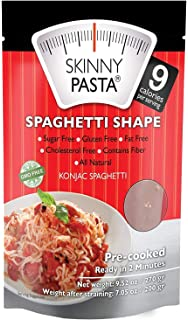 Skinny Pasta Konjac Spaghetti Shape Sugar Free Gluten Free Fat Free Cholesterol Free Contains Fiber All
