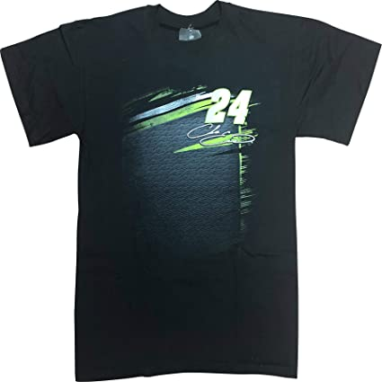 Checkered Flag NASCAR Chase Elliott Mountain Dew #24 Double Sided T-Shirt