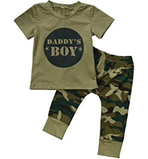 06b2e4a9831 Amazon.com  Cute 3pcs Newborn Baby Boys Little Man Romper+Beard ...