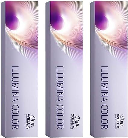 Illumina Color 10/69 - Tinte de coloración, 3 unidades, color rubio claro y violeta