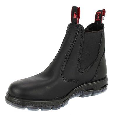 Redback UBBK Easy Escape Slip-On Soft Toe Black Redback Boot Size UK4.5 b4f36311fe97