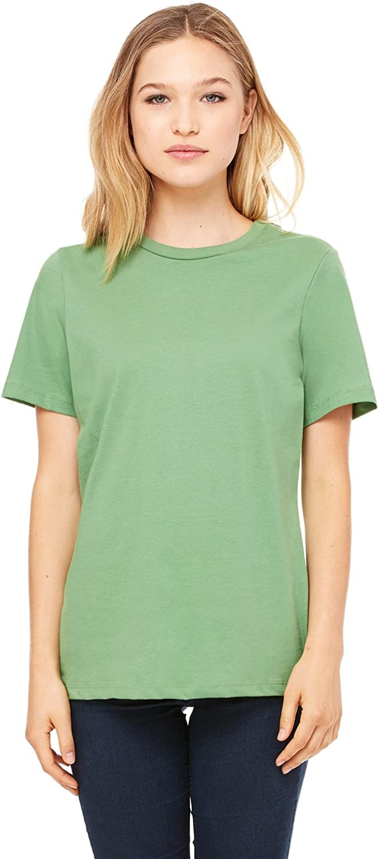 Relaxed Short Sleeve Jersey T-Shirt Bella Canvas 6400