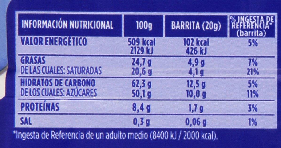 Chocolates Valor - Huesitos - Crujiente barrita de barquillo cubierto de chocolate con leche y con relleno - 40 g: Amazon.es: Alimentación y bebidas