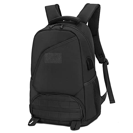 CamGo Tactical Casual Daypack 25L Military Assault Backpack Waterproof College  School Rucksack Hiking Travel Camping Backpacks 0b1abb4bfb5a6