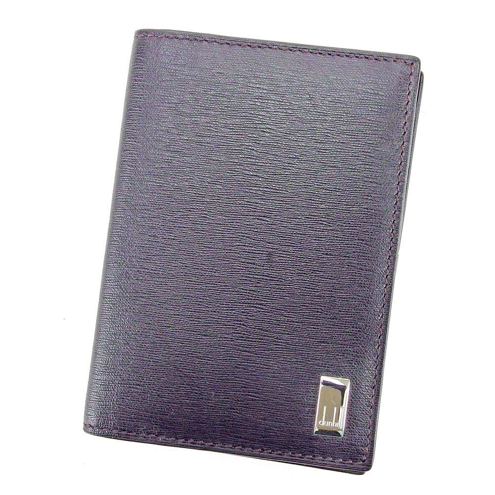 (ダンヒル) Dunhill カードケース 名刺入れ ブラウン シルバー メンズ可 中古 T5814   B079S8QPC7