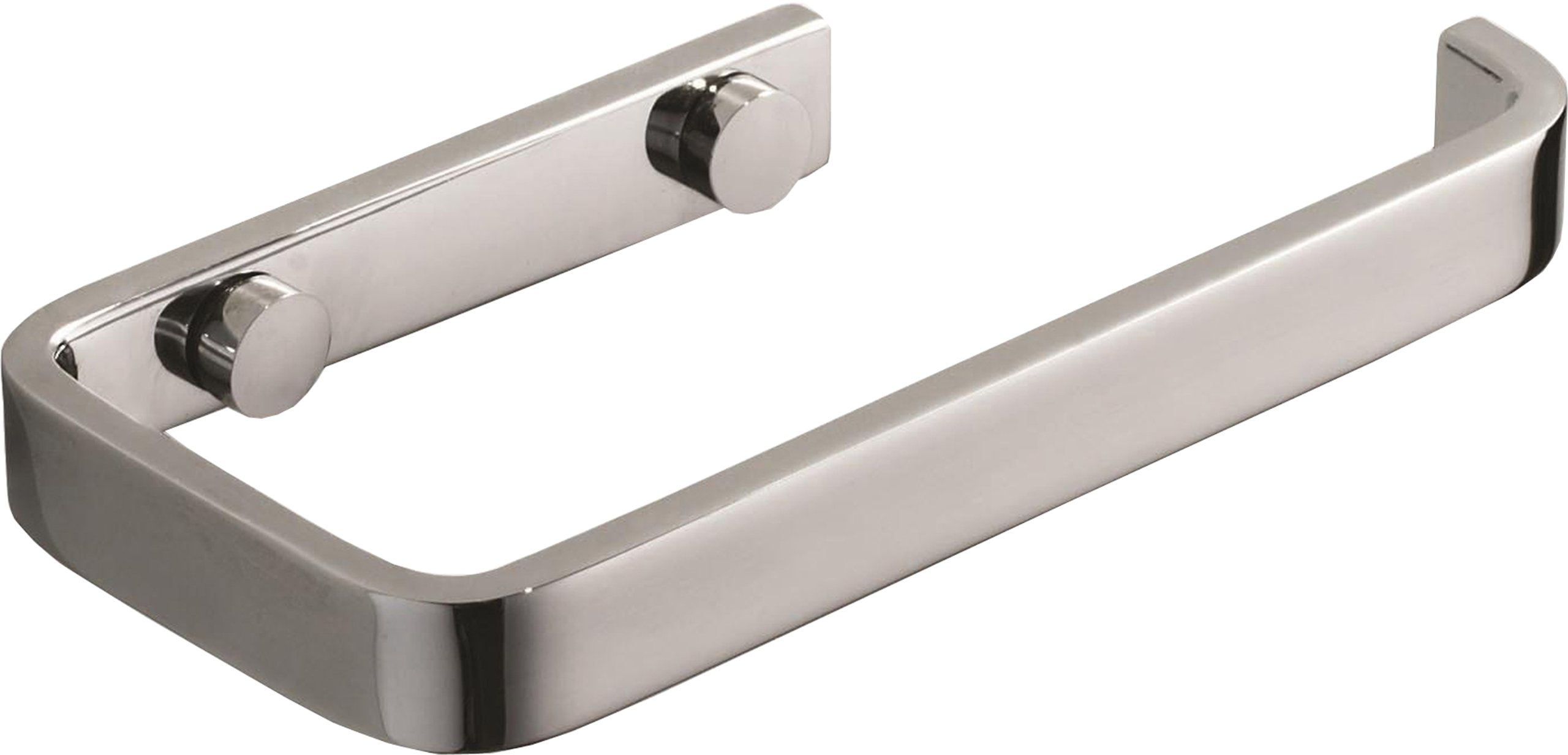 Atlas Homewares SOTP-CH  Solange Toilet Paper Bar, Polished Chrome