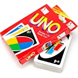 Gbell 57×87MM 108 UNO Playing Cards Game For Family Friend Travel Party Instruction Fun Toy