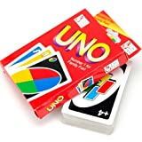 57×87MM 108 UNO Playing Cards Game For Family Friend Travel Party Instruction Fun Toy,Gbell