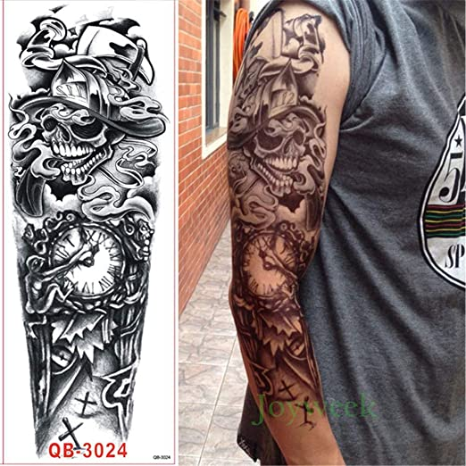 3pcs-a Prueba de Agua Pegatinas Tatuaje Temporal Flor Phoenix ...