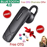 Oppo Bluetooth Headset with Volume Control Button With Mic (Black)