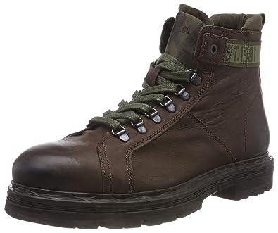new product b510e b52b0 REPLAY Holman, Stivali Combat Uomo: Amazon.it: Scarpe e borse