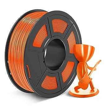 GEEETECH PETG Filament 1.75mm Orange,1kg pour imprimante 3D,1bobine