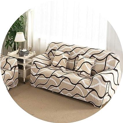Amazon.com: Glittering time Universal Sofa Cover Flexible ...
