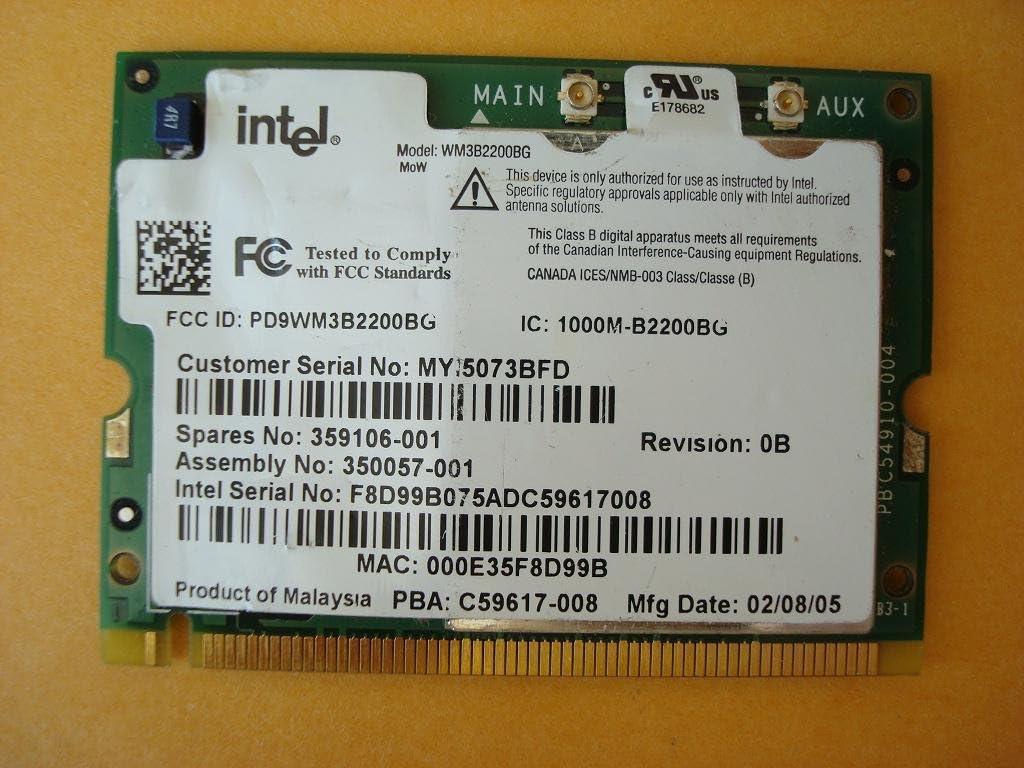 USB 2.0 Wireless WiFi Lan Card for HP-Compaq TouchSmart 600-1070a