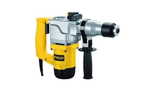 Stanley 26mm 850-Watt 2 Mode L-Shape SDS-Plus Hammer with Kitbox (Yellow and Black) Power Rotary Hammers at amazon