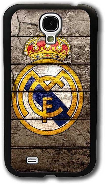Antichoc Samsung Galaxy S4 Mini Coque, Real Madrid Football Logo ...