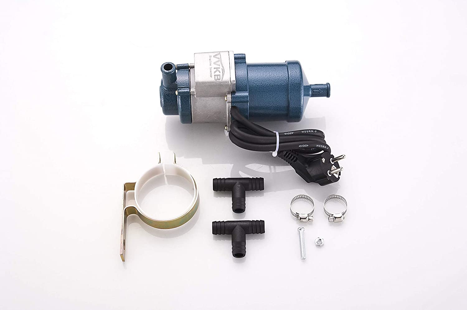 VVKB Engine Heater 110 Volts 1000w Titan-P5 with Thermostats and Built-in Water Pump TUV CE FCC ROHS