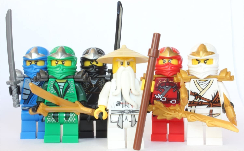LEGO Ninjago   Sensei Wu + 25 ZX Ninjas   Lloyd, Kai, Cole, Jay & Zane
