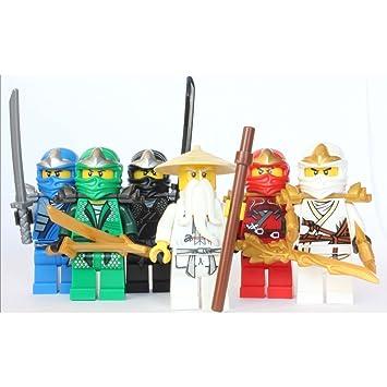 LEGO Ninjago - Sensei Wu + 5 ZX Ninjas - Lloyd, Kai, Cole ...